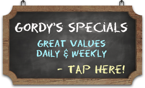 Gordy's Pizza & Pasta Specials