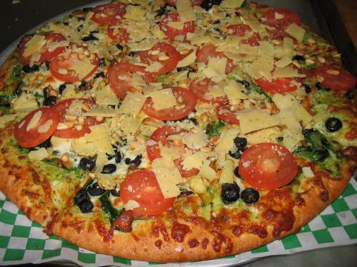 Greek Pizza - Gordy's Pizza and Pasta Port Angeles